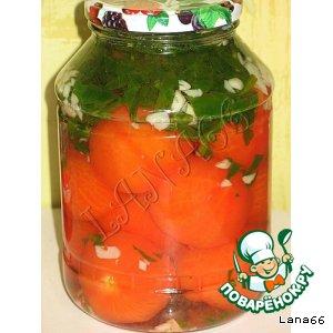 Как приготовить Эротические помидорки простой рецепт с фотографиями