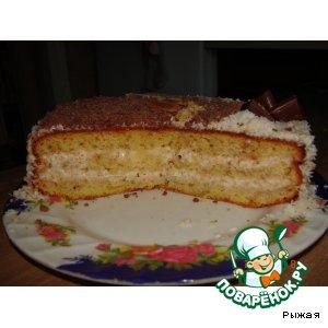 """Рецепт: Торт """"Ореховый"""""""