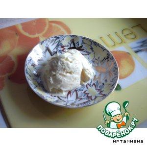 Рецепт Лимонное мороженое