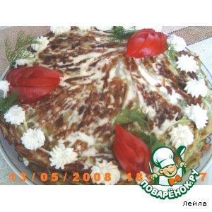 Рецепт Капустный торт