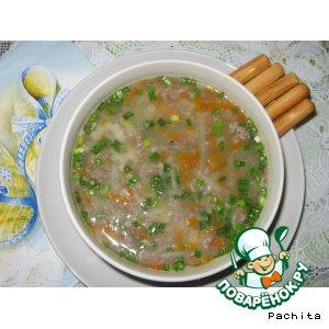 Рецепт Супчик с куриными желудками