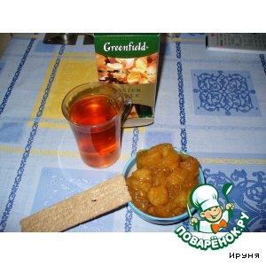 Рецепт Яблочный джем с карамелью