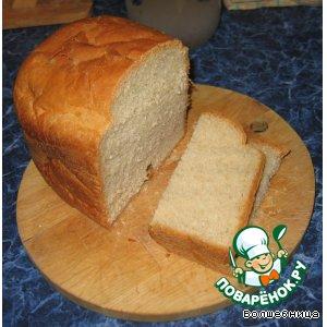 хлеб ржано-пшеничный рецепт с фото