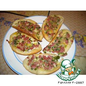 Как приготовить Мини-пицца вкусный рецепт с фотографиями пошагово