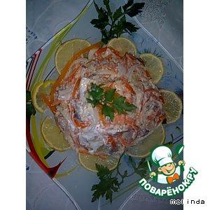 Закуска из сельди простой рецепт с фотографиями пошагово