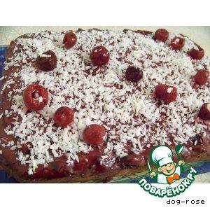 Рецепт Шоколадный кекс «Вишня в коньяке»