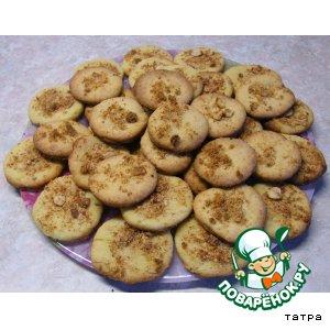 Рецепт Сухое сладкое печенье