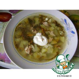 """Рецепт Суп """"Дальневосточный"""""""