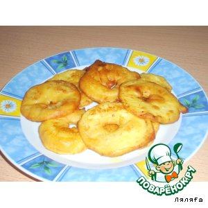 Рецепт Яблоки в тесте или яблоки в кляре