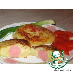 Сосиска в шубе рецепт приготовления с фотографиями