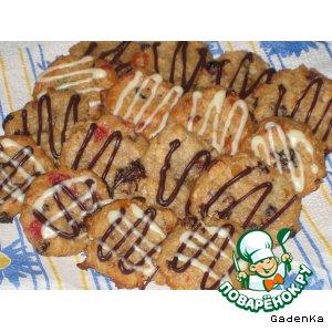 Рецепт Печенье «Гречнево-овсяные вкусняшки»