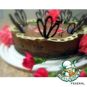 """Рецепт Торт """"Шоколадно-бархатный"""""""