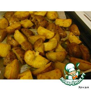 Готовим Печеный картофель рецепт с фото