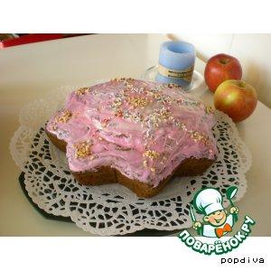 Рецепт Cладкий пирог с цуккини