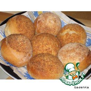 Рецепт Булочки ржаные с маслом в хлебных крошках