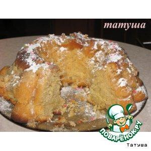Рецепт Имбирно-медовый кекс с перчиком