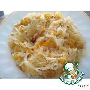 Рецепт Солянка из квашеной капусты (не суп)