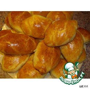 Рецепт Пирожки с фасолью