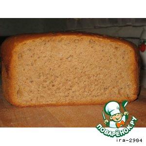 Рецепт Ржано-пшеничный хлеб на закваске