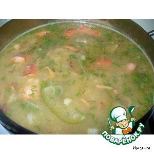 Рецепт Картофельный суп с перцем