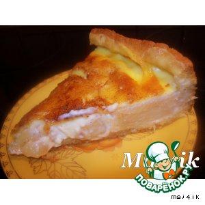 """Рецепт Заливной яблочный пирог """"Наливное яблочко"""""""