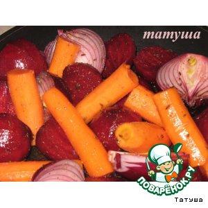 Рецепт Запеченные овощи на гарнир