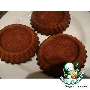Рецепт Кексики с вареньем