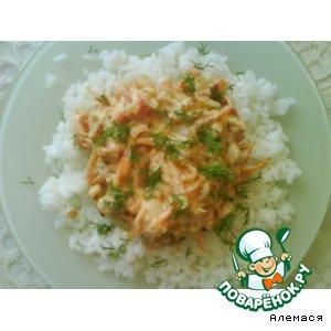"""Рецепт Соус """"Овощи со сметаной"""""""