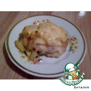 Как приготовить Куриные бедрышки в ананасах вкусный рецепт с фото пошагово