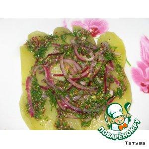 Рецепт Горчично-луковый картофель