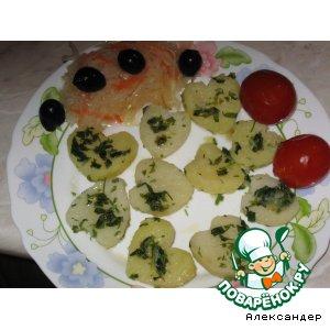 Рецепт Завтрак в День Святого Валентина
