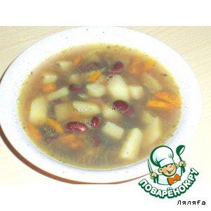 Готовим вкусный рецепт с фото Суп из фасоли