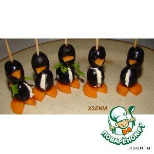 """Закуска """"Пингвинчики"""""""