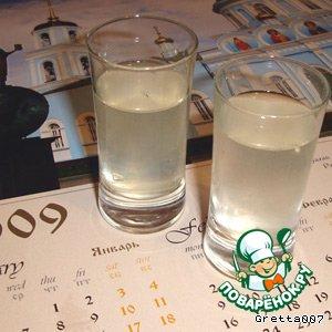 Рецепт Лимонная водка