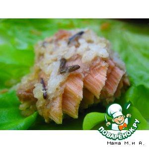 Рецепт Рыба по-тайски в рисовой корочке