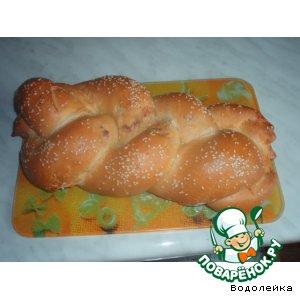 Рецепт Cырный хлебушек (плетенка)