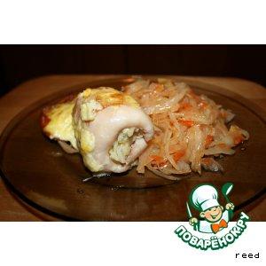 Рецепт Кармашки из кальмаров
