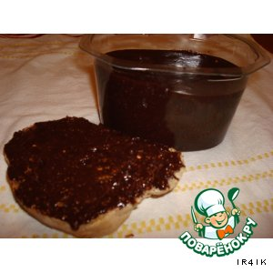 Шоколадная паста с фундуком