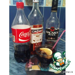 "Рецепт Коктейль ""Black Libre"""