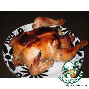 Рецепт Курица в медово-чесночном соусе