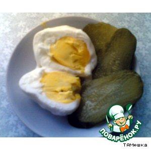 Рецепт Яйцо вареное (в микроволновке)