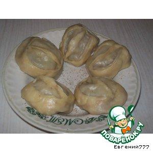 Манты сибирские домашний пошаговый рецепт приготовления с фотографиями