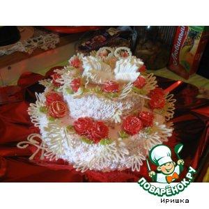 Рецепт Свадебный торт