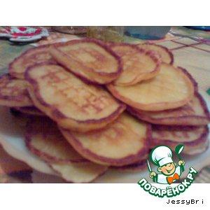 Рецепт Персиковые оладушки