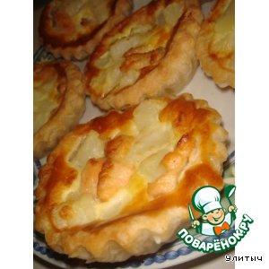 Рецепт Киш-пирог картофельно-лососевый