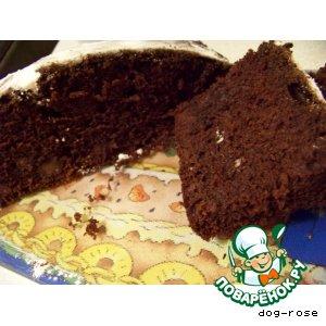 Рецепт Шоколадно-винный кекс