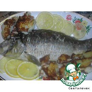 Рецепт Карп с имбирем