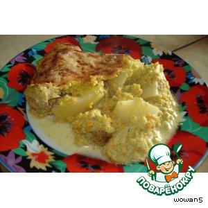 Рецепт Запеканка  картофельно-овощная