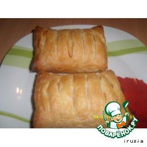 Рецепт Куриная грудка в слойке
