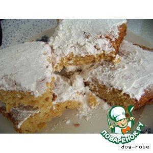 Рецепт Кекс «Снежинка»